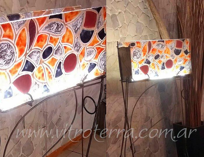 Lámpara de vidrio modelo Venice