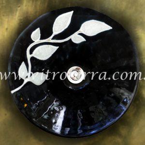 Bacha circular de vidrio Alma