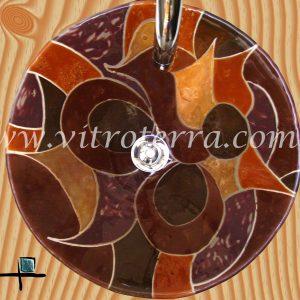 Bacha circular de vidrio Alpina