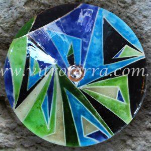 Bacha circular de vidrio Antítesis