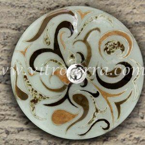 Bacha circular de vidrio Arábiga del Desierto