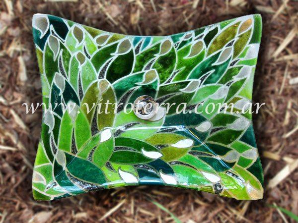 Bacha rectangular de vidrio Araminta