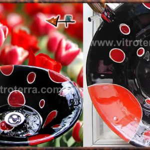 Bacha circular de vidrio BP-Pop