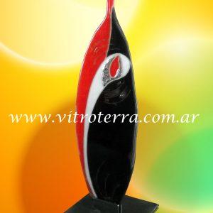 Escultura de vidrio modelo Corazón