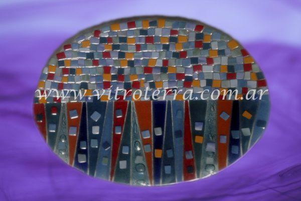 Centro irregular de vidrio Glass-Bricks