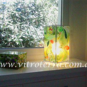 Lámpara de vidrio modelo Green