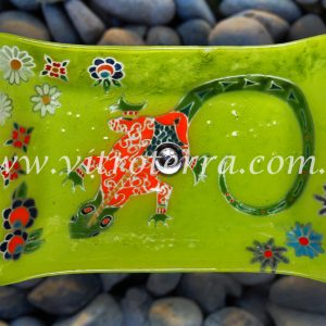 Bacha rectangular de vidrio GBP-Iguana