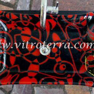 Bacha rectangular de vidrio GBP-Iniesta
