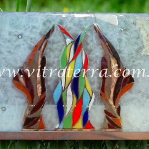 Escultura de vidrio modelo Alquimistas