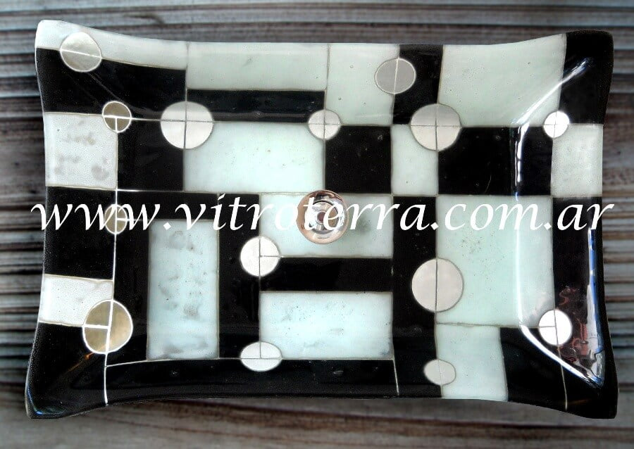 Bacha rectangular de vidrio GBP-Lunar