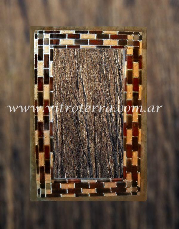 Marco de vidrio modelo Inca