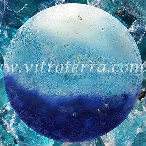 Centro circular de vidrio Mil-Mares