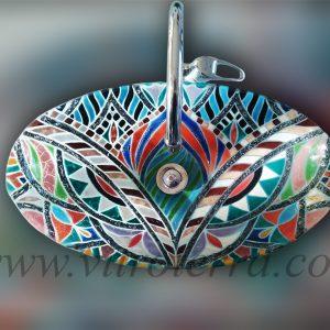 Bacha bote de vidrio Persia