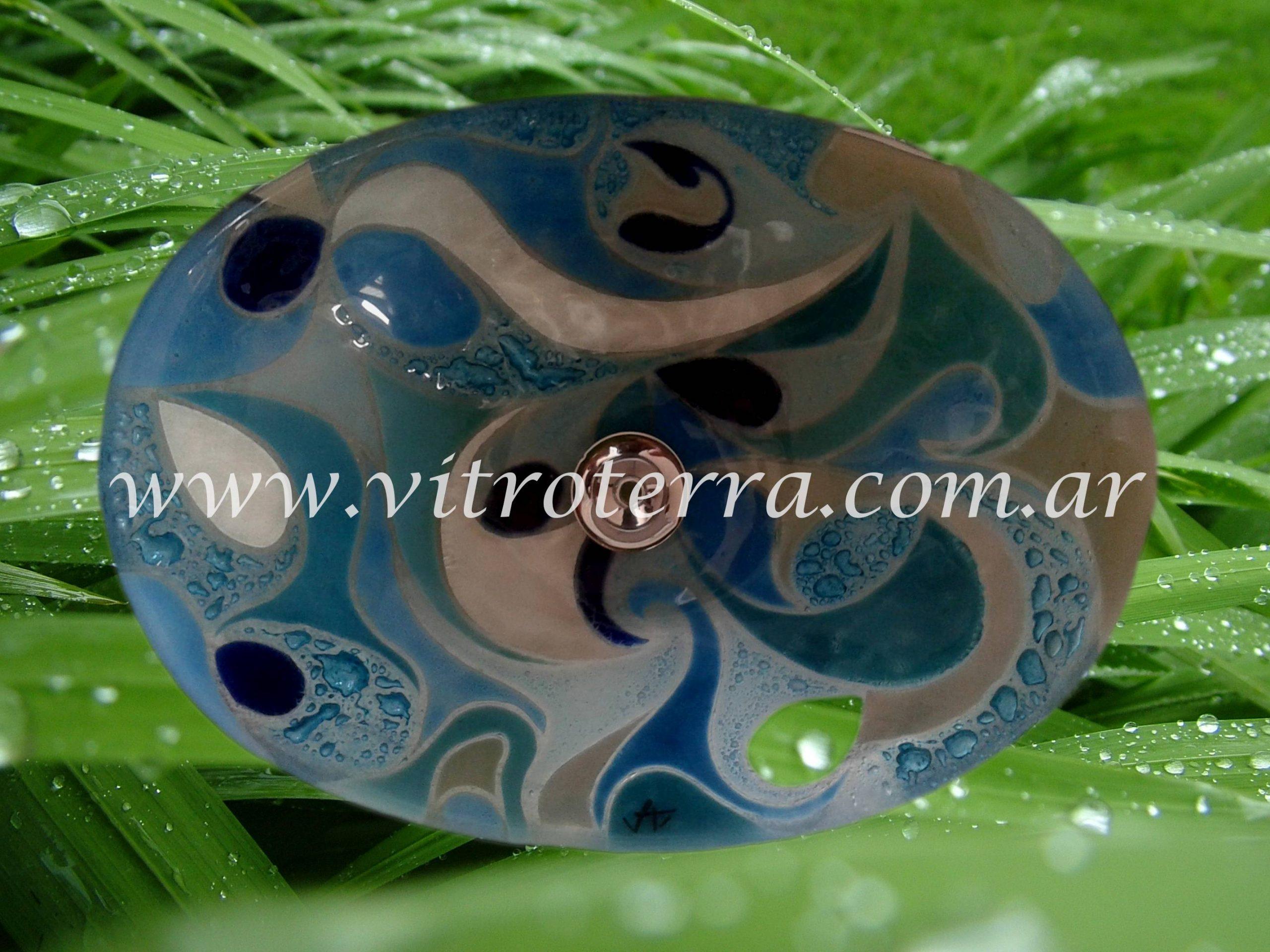 Bacha oval de vidrio Serendipity