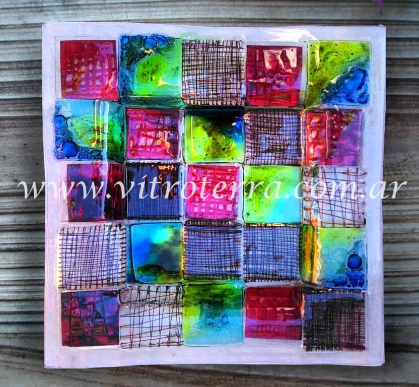 Centro cuadrado de vidrio Square-Rooms