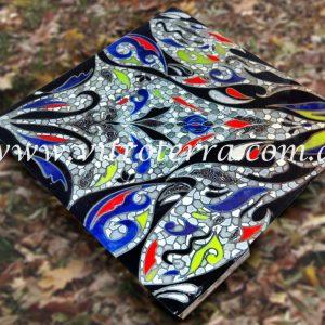 Mesa de vidrio modelo Mosaico