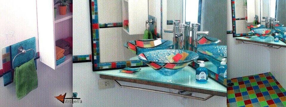 Mondrian-Turquesa en los Silos de Dorrego