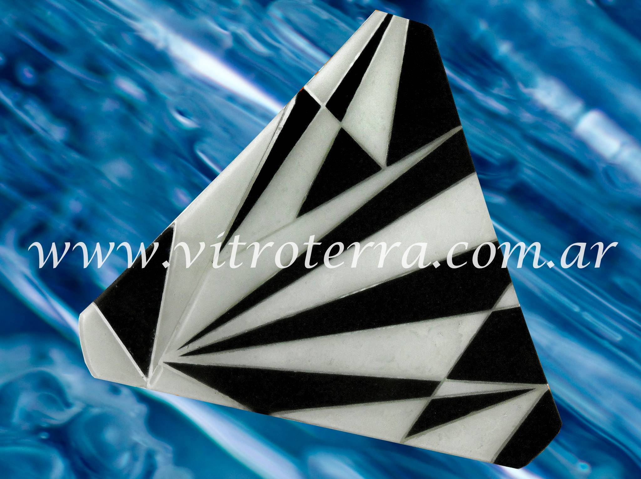 Centro irregular de vidrio Trigonometría