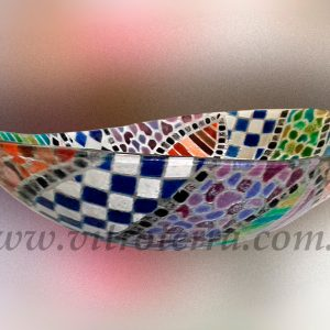 Bacha oval de vidrio Venetian