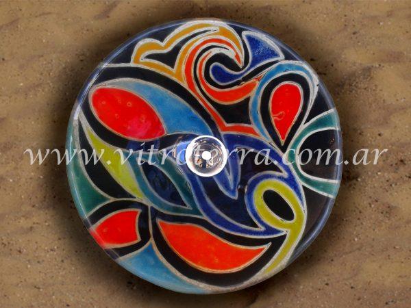 Bacha circular de vidrio Color Miró